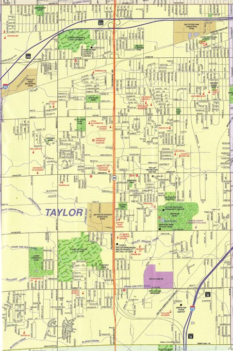 View a map of the City of Taylor Opens in new window