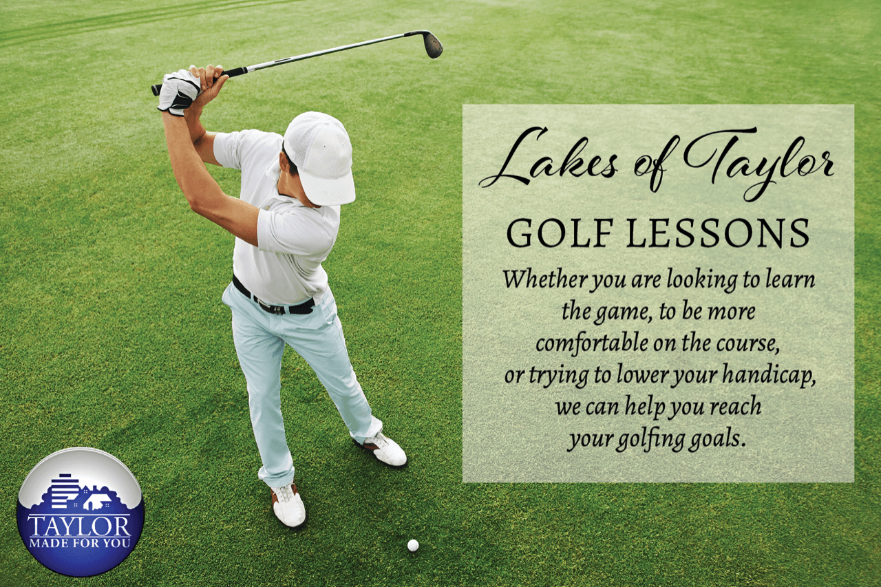 GOLF LESSONS 2019