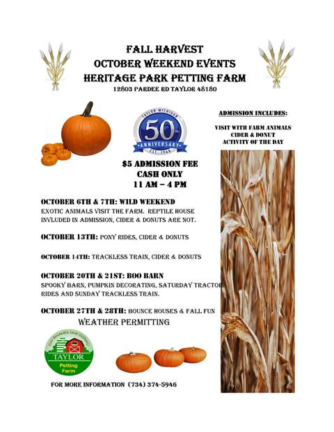 Fall Fun Farm 2018