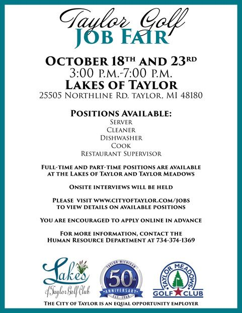 Golf Job Fair
